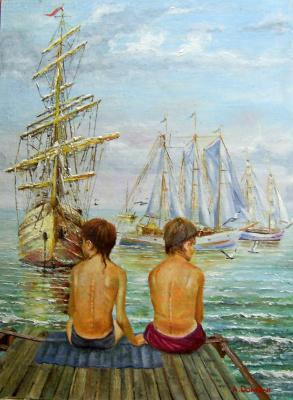 Андрей Домани. ... а мальчишкам снились якоря