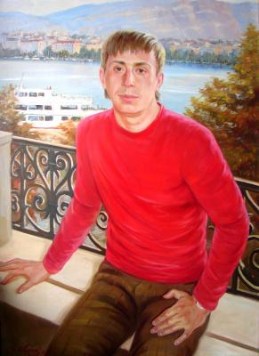 Виталий Викторович Жердев. Portrait of Oleg Ryzhkov