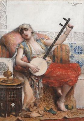 Leon Francois Comerre. Odalisque. 1887