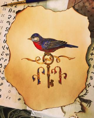 """David Baghdasaryan. David Bagdasaryan """"Garden of blooming letters"""""""
