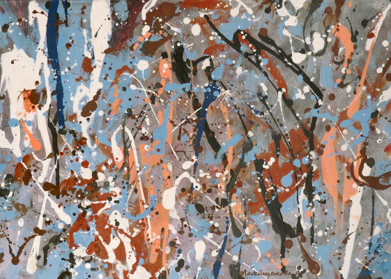 Laura Ladeishchikova. Composition 1