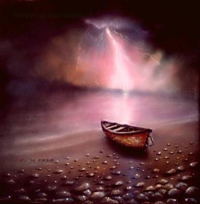 Cristina de biasio. Storm boat