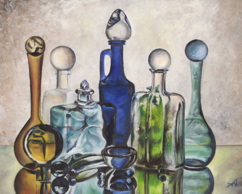 Alexey Chernov. Glass still life