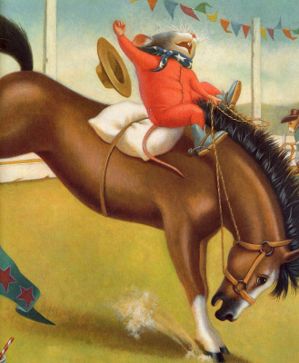 Мэри Джейн Бегин. Верхом на коне