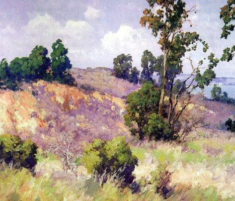 Морис Браун. Деревья и кустарники