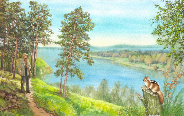 Vitaly Vasilevich Dudarenko. My Homeland