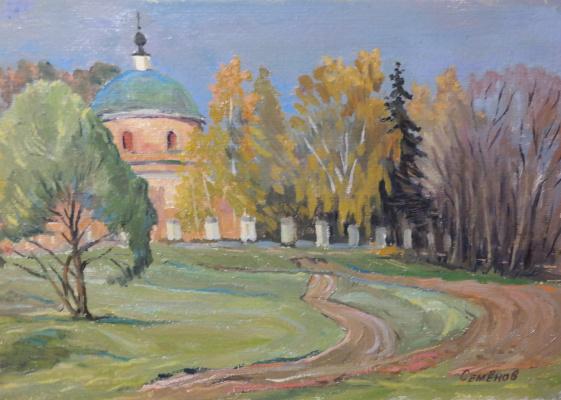 Valery Sergeevich Semenov. D. Bogoslovo. Autumn