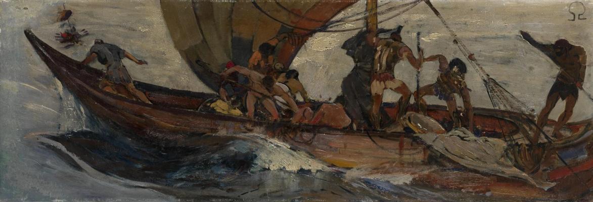 Ivan Grigorievich Myasoedov. Argonauts