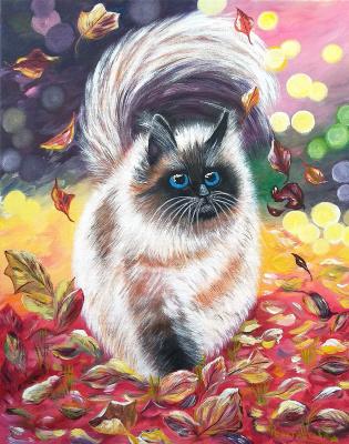Tatyana Nikolaevna Feoktistova. Brutal autumn cat