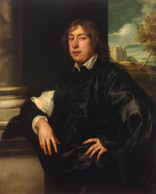 Anthony van Dyck. Portrait Of Everhard Jabach Abacha
