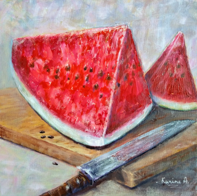 Karine Andriasyan. Juicy Watermelon