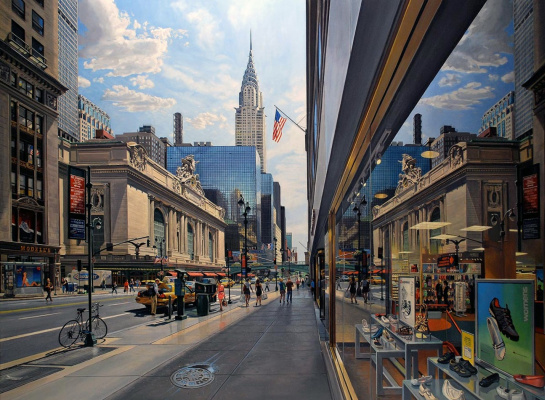 Роберт Неффсон. Grand Central