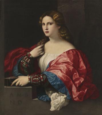 Джакомо Пальма. Портрет девушки, или Красавица