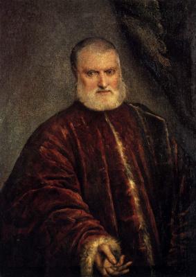 Jacopo Tintoretto. Portrait of Procurator Antonio Capello