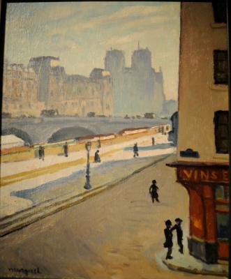 Albert Marquet. Notre Dame. Sun.