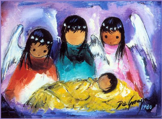 Тед Дегразиа. Ангелы