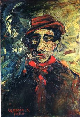Maurice de Vlaminck. Man with pipe (Portrait of dad, Buju)