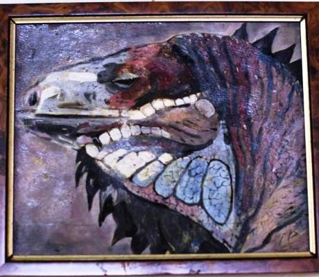 Valery Viktorovich Shechkin. Iguana