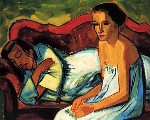Max Pehshtein. Two women