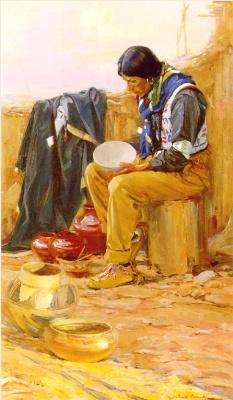 Джеральд Кэссиди. Керамический чайник