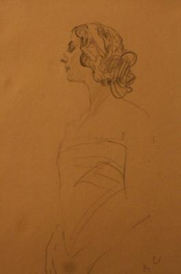 Portrait Of A. P. Pavlova