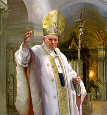Нельсон Шэнкс. Папа Иоанн Павел II