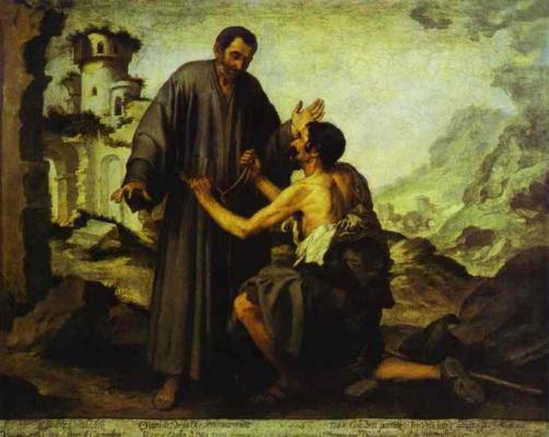 Bartolomé Esteban Murillo. Beggar