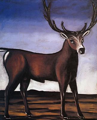 Niko Pirosmani (Pirosmanashvili). Deer