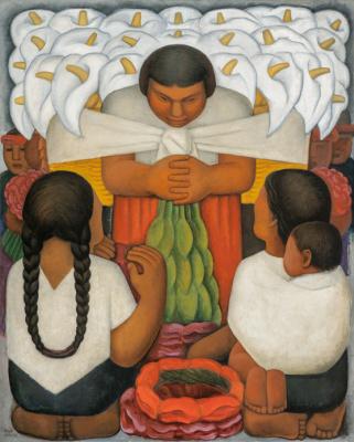 Диего Мария Ривера. Праздник цветов