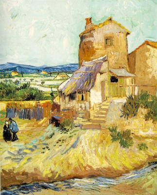 Vincent van Gogh. Old mill