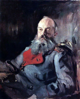 Valentin Aleksandrovich Serov. Portrait of Grand Duke Mikhail Nikolaevich in the jacket