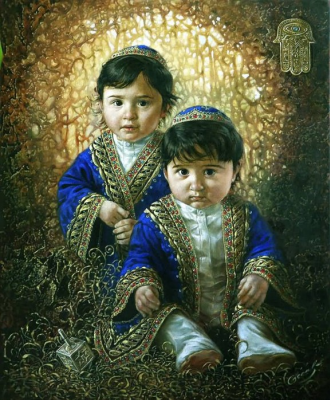 Mikhail Khokhlochev. Two Kings (James and David)