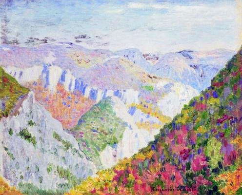 Nikolay Petrovich Bogdanov-Belsky. Landscape