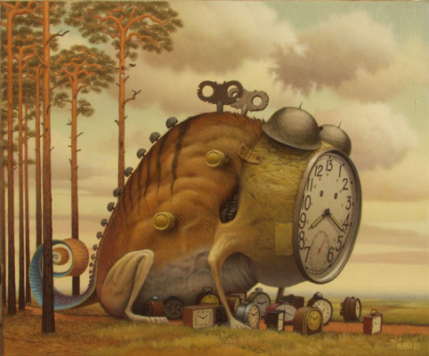 Jacek Yerka. Time goes by