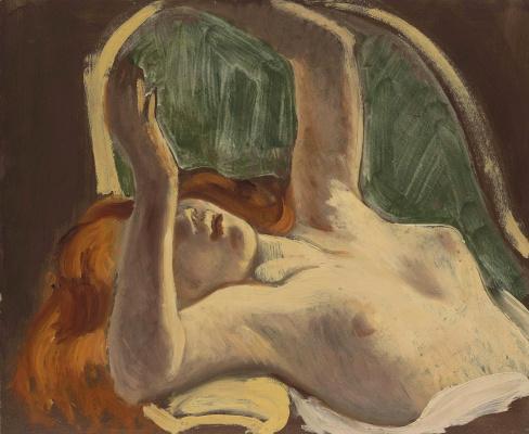 Balthus (Balthasar Klossovsky de Rola). Nude