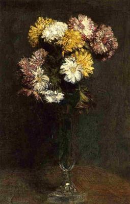 Henri Fantin-Latour. Chrysanthemum