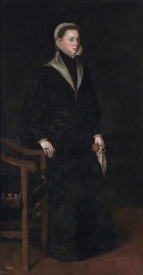 Антонис ван Дасхорст Мор. Хуана, инфанта Испании и эрцгерцогиня Австрии, дочь императора Карла V, сестра короля Филиппа II