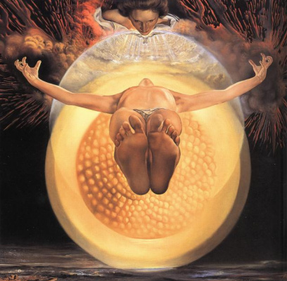 Сальвадор Дали. Вознесение Христа