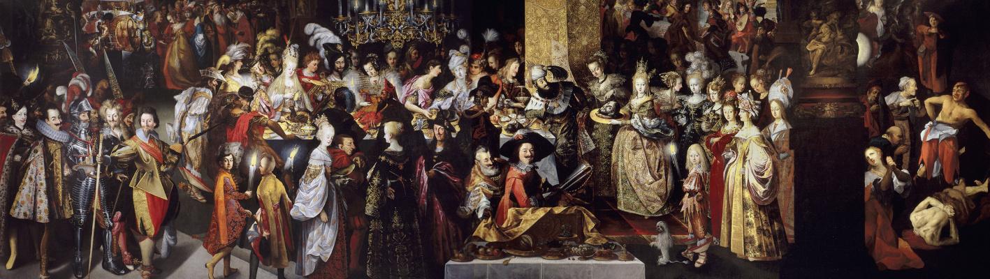 Bartholomew Strobel. The Beheading of John the Baptist at Herod's Feast