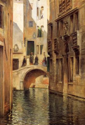 Юлий Леблан Стюарт. Венецианский канал