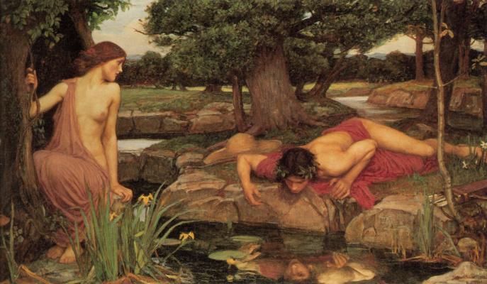 John William Waterhouse. Echo and Narcissus
