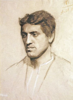 Мария Константиновна Башкирцева. Male head