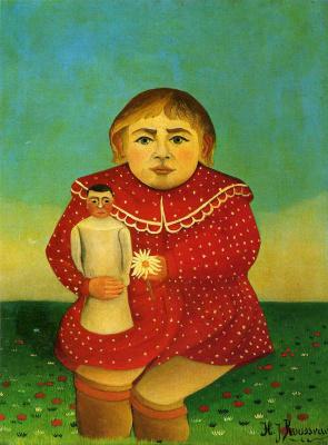 Анри Руссо. Девочка с куклой