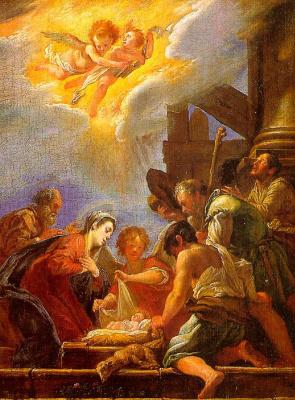 Доменико Фетти. Рождество Иисуса