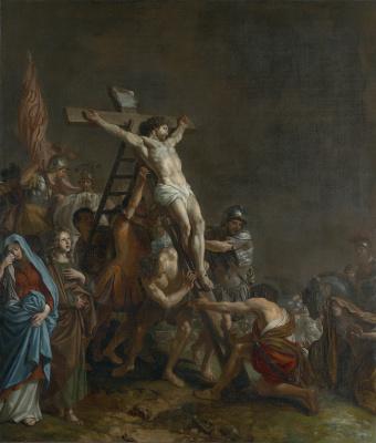Адриен Бэкер. Поднятие креста