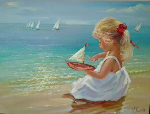 """Viktoriya. """"White boats"""""""