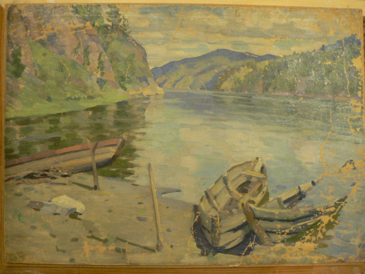 Karl Fritsevich Valdman. Boats ???