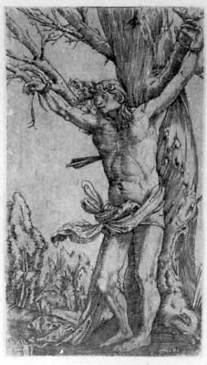 Albrecht Altdorfer. Saint Sebastian