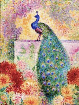 Jean Metzinger. Peacock