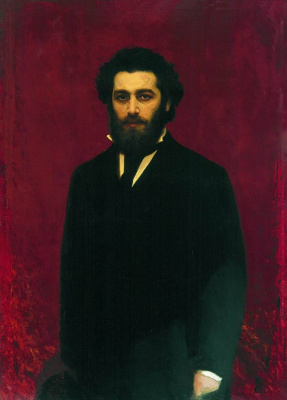 Ivan Nikolayevich Kramskoy. Portrait of the artist Arkhip Kuinji